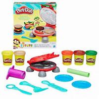 Плей-Дох Игровой набор пластилина Бургер - гриль  Play-Doh