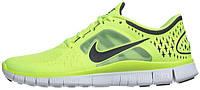 """Мужские кроссовки Nike Free Run+ 3 """"Volt"""" , найк"""