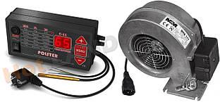 Комплект автоматики котла POLSTER C11 + вентилятор WPA X2