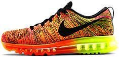 Мужские кроссовки Nike Air Max Flyknit 2014 Orange