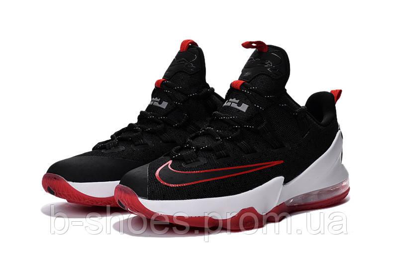 Мужские баскетбольные кроссовки Nike LeBron 13 Low (Black/Red)