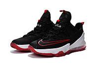 Мужские баскетбольные кроссовки Nike LeBron 13 Low (Black/Red), фото 1