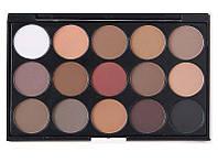MAC тени для макияжа 15 стойких оттенков  Mac Cosmetics матовые тени для макияжа глаз