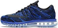 "Мужские кроссовки Nike Air Max 2016 Print Racer ""Blue"", найк"