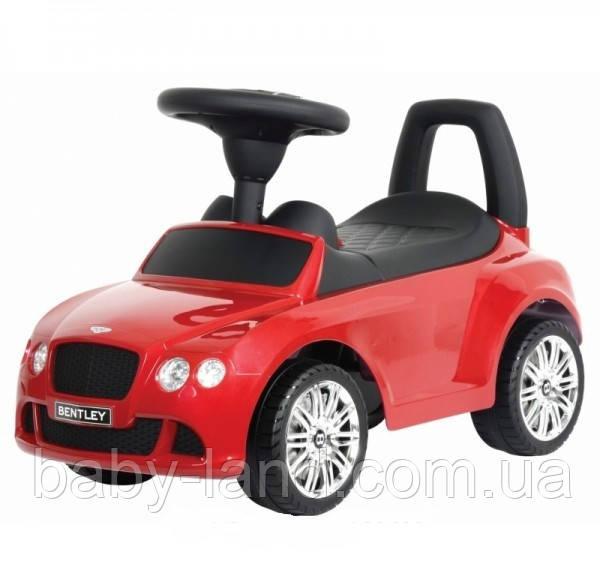 Каталка-толокар детская машина Bentley Z 326-2 красная
