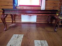 Итальянскии обеденный стол (нераздвижной)  с фигурной столешницей.