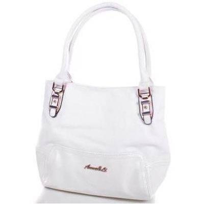 Красивая женская сумка из качественного кожезаменителя ANNA&LI (АННА И ЛИ) TUP14075-11 (белый)