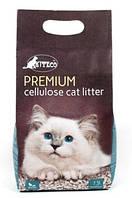 Наполнитель целлюлозный универсальный для животных KITECO КИТЕКО Premium  3,8 л 1,5 кг