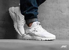 Мужские кроссовки Nike Air Huarache Ultra BR Triple White 833147-100, Найк Аир Хуарачи, фото 3