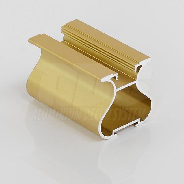 Профиль- ручка для раздвижной двери Золото