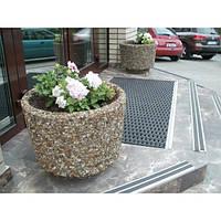 Вазоны бетонные садовые