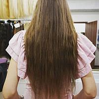 Наращивание славянских волос на капслах