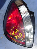 Фонарь задний левый хетчбэкKiaRio2006-201192401-1G2, 924011G210