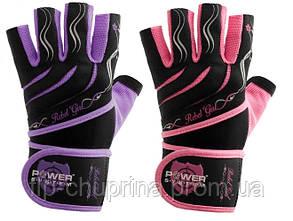 Перчатки для тяжелой атлетики Power System Rebel Girl