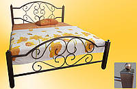 Кровать металлическая Валенсия двуспальная