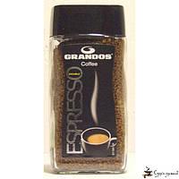 Растворимый кофе GRANDOS «Espresso» кристал 100г, фото 1