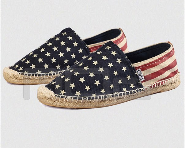 Toms Toms эспадрильи American USA Flag