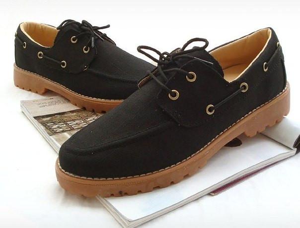 Ботинки из холста