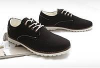 Мужские ботинки из холста, фото 1