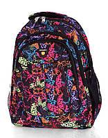 Рюкзак спортивный молодежный Бабочки розовый