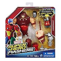 Разборные фигурки супергероев, Джаггернаут - Juggernaut, Super Hero Mashers, Marvel, Hasbro