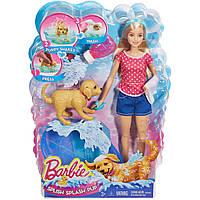 Кукла Барби Веселое купание щенка Barbie Splish Splash Pup DGY83