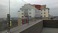 Балконное ограждение из стекла