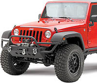 Передний силовой бампер Jeep Wrangler 2007-2016 Smittybilt SRC