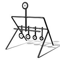 Мишени Люман. Мини-тир №1. Механические мишени, для стрельбы тренировочной и развлекательной
