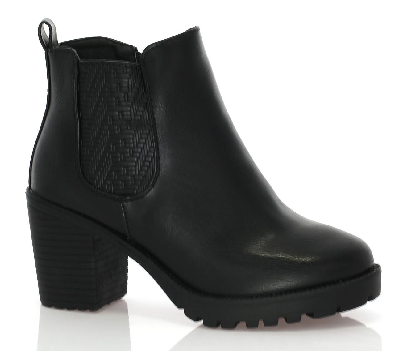 Женские ботинки Chloe Black