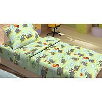 Детское постельное белье Lotus FiLi зеленое
