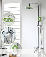 Душевая стойка со смесителем для ванны Green