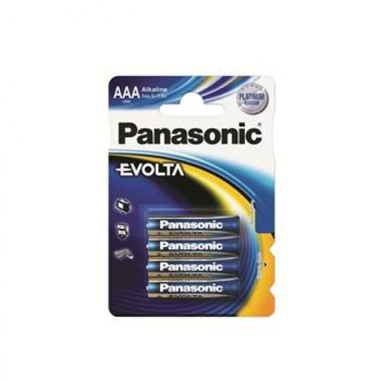 Батарейка Panasonic EVOLTA AAA BLI 4 ALKALINE
