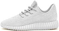 Мужские кроссовки Adidas Yeezy Boost 350 All White, адидас