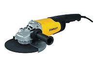 Болгарка (УШМ) Stanley STGL2223, 2200Вт, 230мм