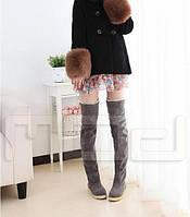 Женские теплые сапоги, фото 1