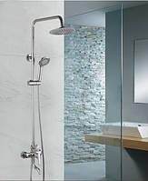 Душевая стойка со смесителем (колонна) для ванны и душ-кабины