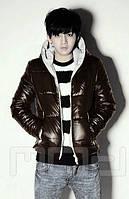 Мужская блестящяя куртка, фото 1