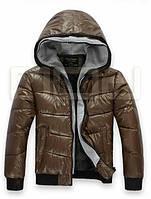 Мужская зимняя куртка с обманкой кофты, фото 1