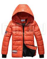 Мужская зимняя куртка с буквой М, фото 1
