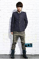 Приталенное мужское полу пальто, фото 1