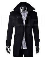 Мужское классическое длинное пальто, фото 1