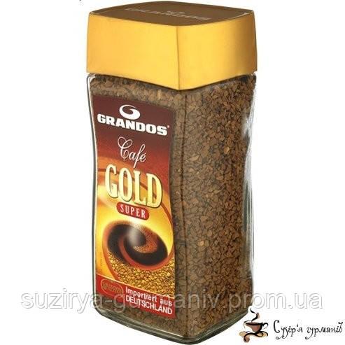 Растворимый кофе GRANDOS «Gold» 200г