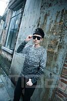 Мужской свитер двухцветный, фото 1