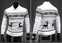 Мужской свитер с оленями, фото 1
