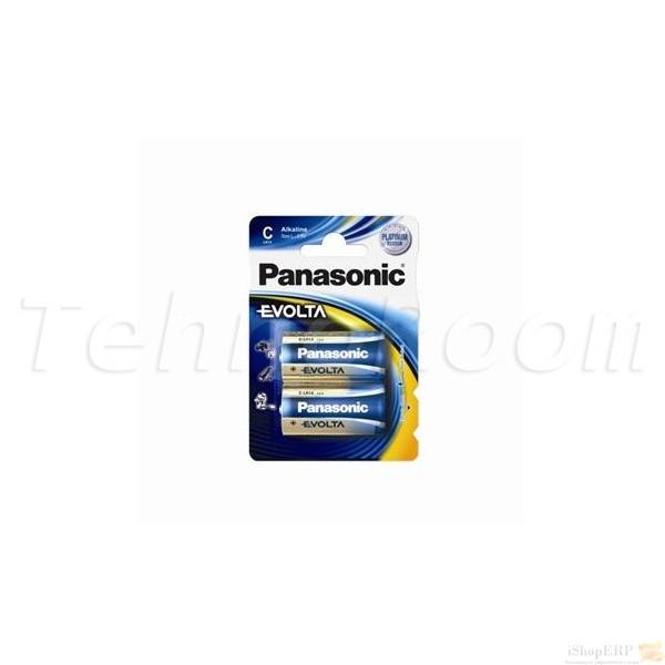 Батарейка Panasonic EVOLTA C BLI 2 ALKALINE