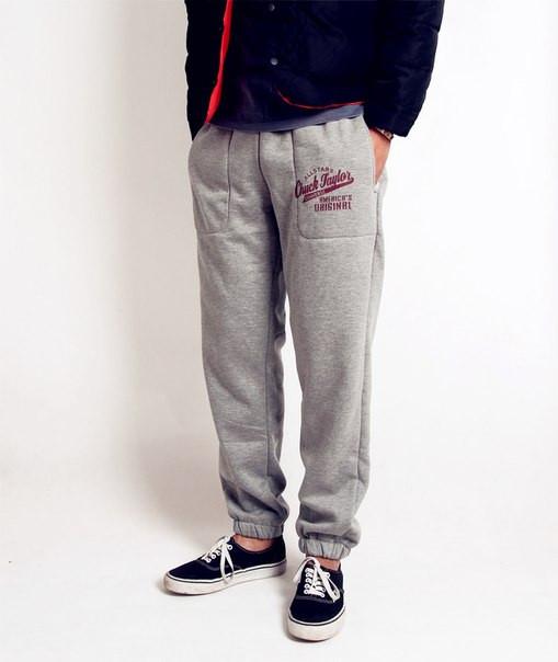 Спортивные хлопковые штаны Chuck Taylor all stars