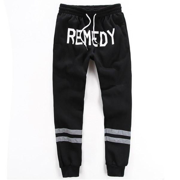 Утепленные хлопковые штаны REMEDY