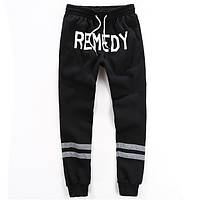 Утепленные хлопковые штаны REMEDY, фото 1