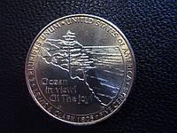 5 центов США 2005 года, «Джефферсон, Океан(«Выход к океану»)».